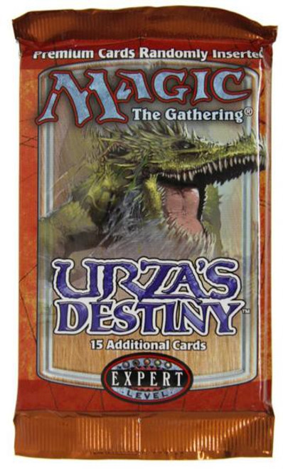 MtG Trading Card Game Urza's Destiny Booster Pack