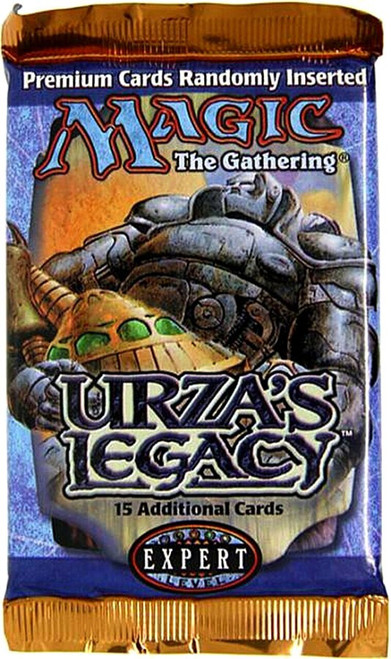 MtG Trading Card Game Urza's Legacy Booster Pack [15 Cards]