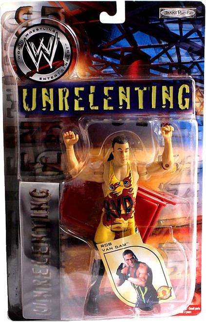 WWE Wrestling Unrelenting Rob Van Dam Action Figure