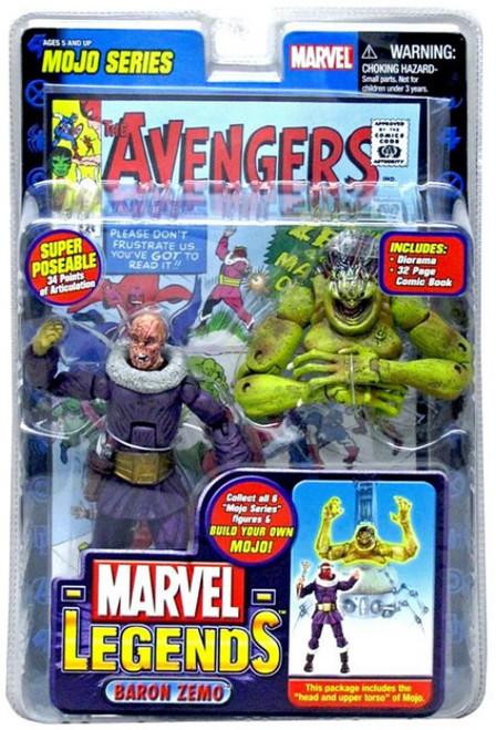 Marvel Legends Series 14 Mojo Baron Zemo Action Figure [Unmasked Variant]