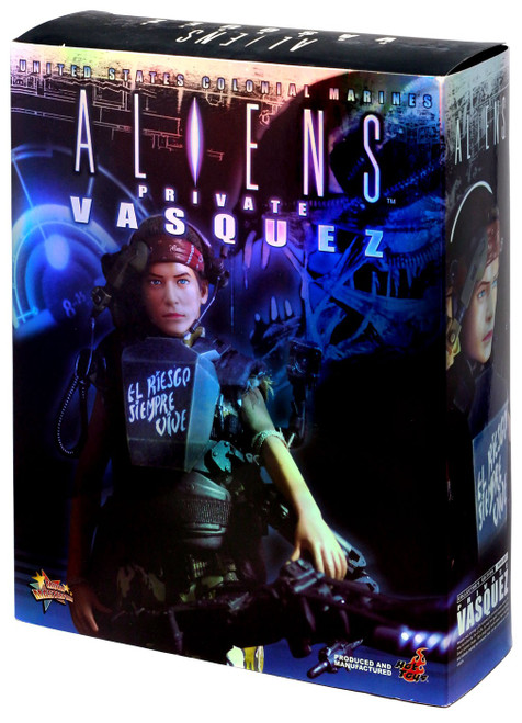 Aliens Movie Masterpiece Private Vasquez Collectible Figure