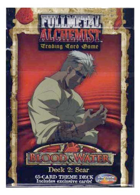 Fullmetal Alchemist Trading Card Game Blood & Water Scar's Vengeance Theme Deck