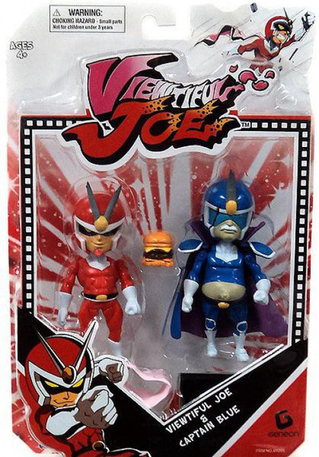 Viewtiful Joe Series 1 Captain Blue & Joe Action Figure 2-Pack
