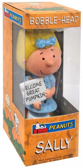 Funko Peanuts Wacky Wobbler Great Pumpkin Sally Bobble Head
