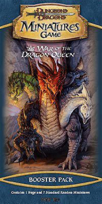 Dungeons & Dragons Trading Miniatures Game War of the Dragon Queen Booster Pack