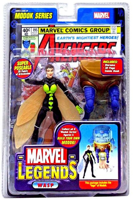 Marvel Legends Series 15 M.O.D.O.K. Wasp Action Figure