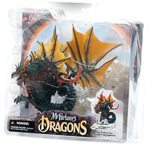 McFarlane Toys Dragons The Fall of the Dragon Kingdom Series 4 Water Dragon Clan 4 Action Figure