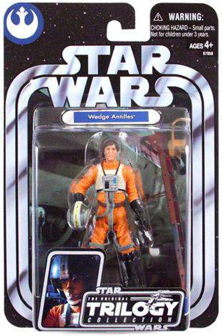 Star Wars A New Hope 2004 Original Trilogy Collection Wedge Antilles Action Figure
