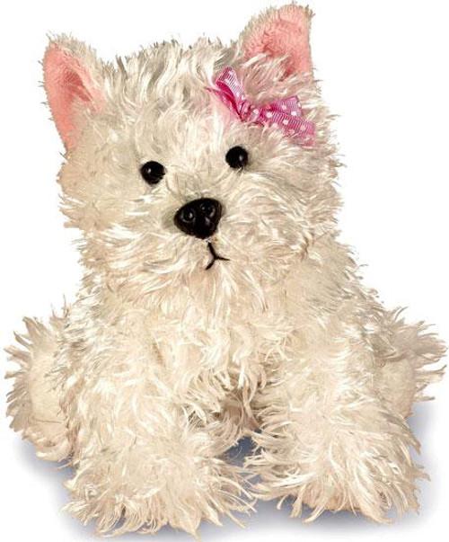 Webkinz White Terrier Plush