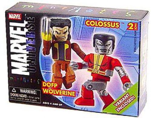 Marvel Universe Minimates Series 13 Colossus & DOFP Wolverine Minifigure 2-Pack
