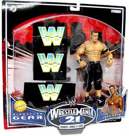 WWE Wrestling WrestleMania 21 Series 1 John Cena Exclusive Action Figure