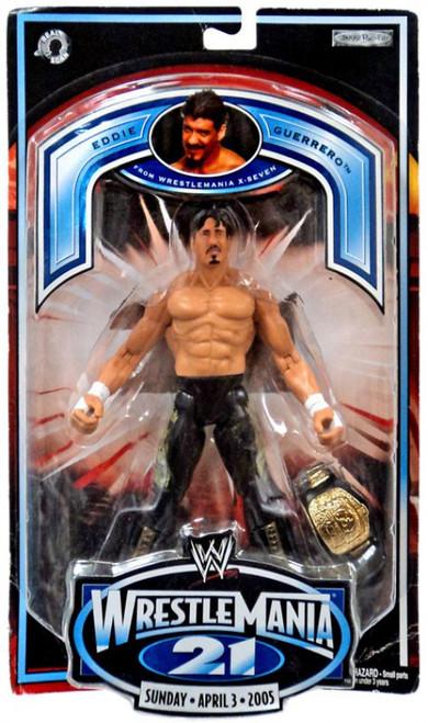 WWE Wrestling WrestleMania 21 Series 1 Eddie Guerrero Exclusive Action Figure