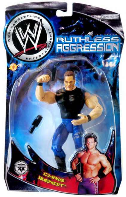 WWE Wrestling Ruthless Aggression Series 7 Chris Benoit Action Figure