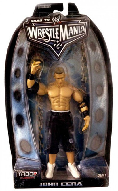 WWE Wrestling Road to WrestleMania 22 Series 2 John Cena Action Figure