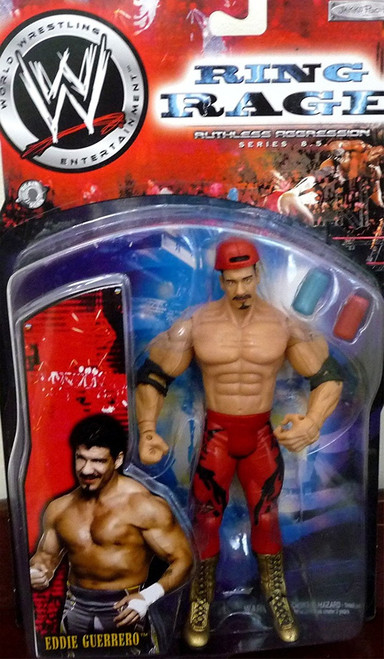 WWE Wrestling Ruthless Aggression Series 8.5 Ring Rage Eddie Guerrero Action Figure