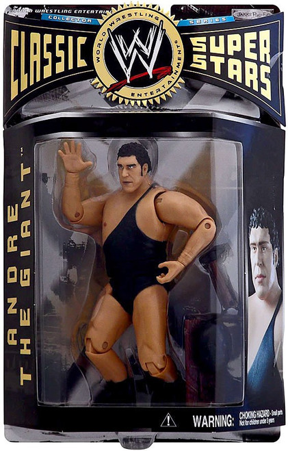 WWE Wrestling Classic Superstars Series 6 Andre the Giant Action Figure [1 Strap]