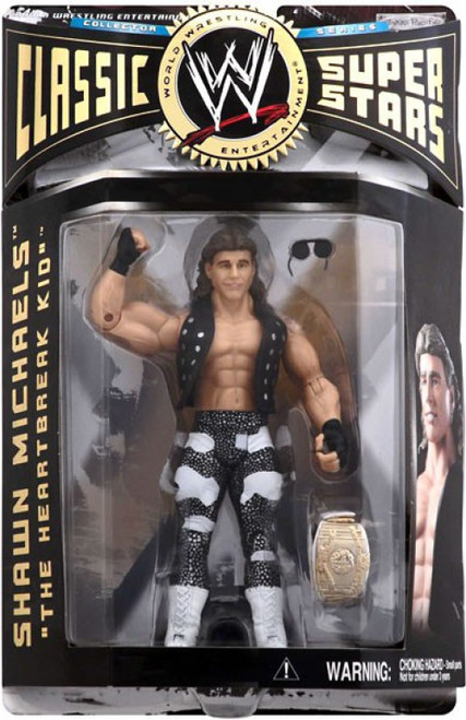 WWE Wrestling Classic Superstars Series 6 Shawn Michaels Action Figure
