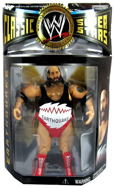WWE Wrestling Classic Superstars Series 6 Earthquake Action Figure