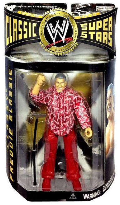 WWE Wrestling Classic Superstars Series 8 Classy Freddie Blassie Action Figure