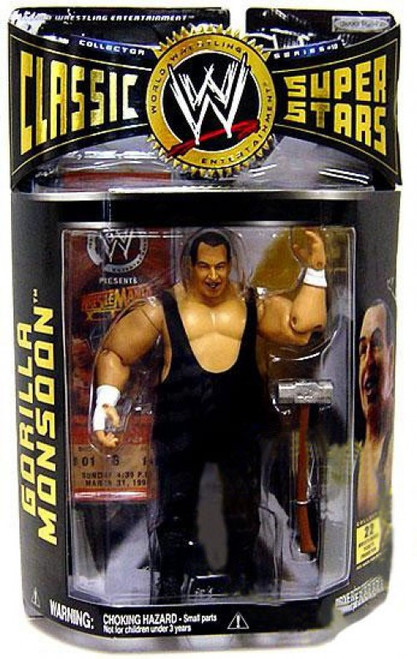 WWE Wrestling Classic Superstars Series 10 Gorilla Monsoon Action Figure