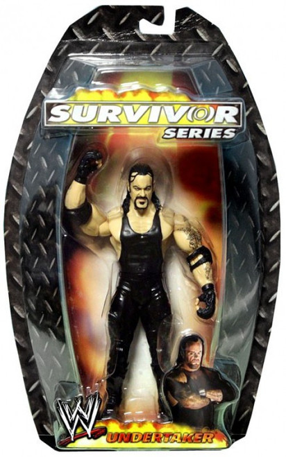 WWE Wrestling Survivor Series 2006 Undertaker Action Figure