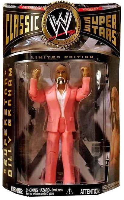 WWE Wrestling Classic Superstars Superstar Billy Graham Exclusive Action Figure [Pink Suit]