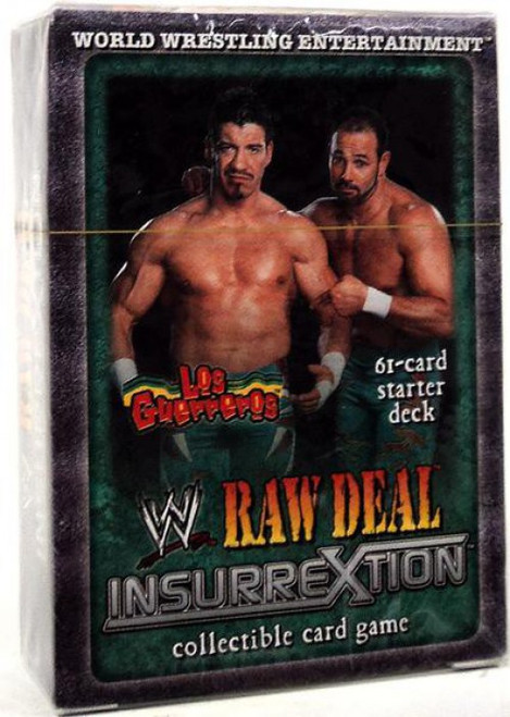 WWE Wrestling Raw Deal Trading Card Game InsurreXtion Los Guerreros Starter Deck