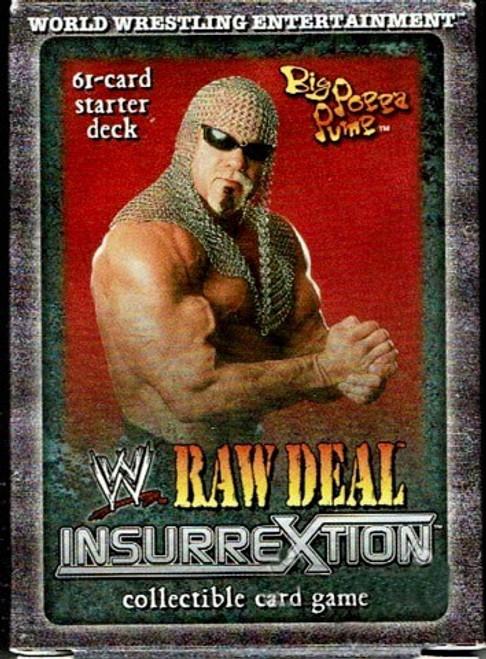WWE Wrestling Raw Deal Trading Card Game InsurreXtion Big Poppa Pump Starter Deck
