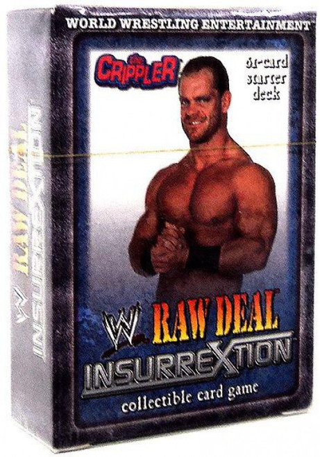 WWE Wrestling Raw Deal Trading Card Game InsurreXtion The Crippler Starter Deck