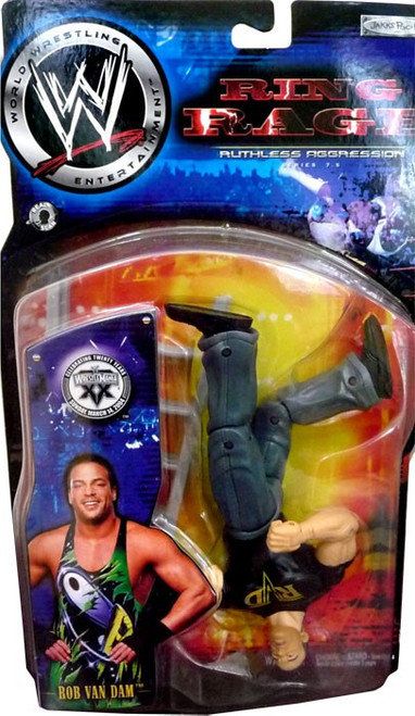 WWE Wrestling Ruthless Aggression Series 7.5 Ring Rage RVD Rob Van Dam Action Figure