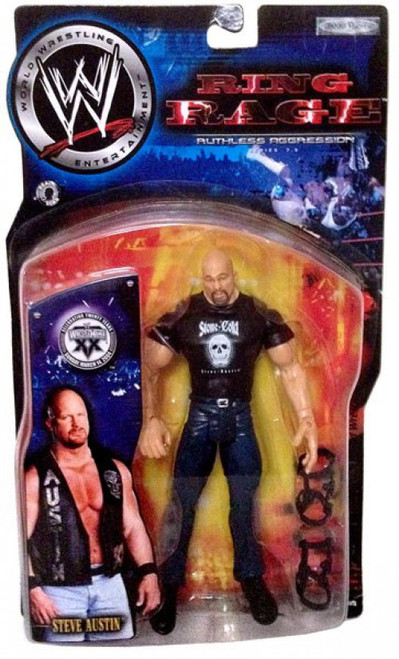 WWE Wrestling Ruthless Aggression Series 7.5 Ring Rage Stone Cold Steve Austin Action Figure