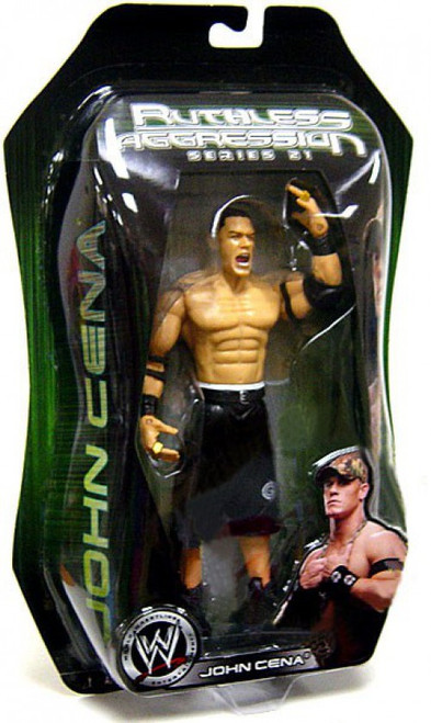 WWE Wrestling Ruthless Aggression Series 21 John Cena Action Figure