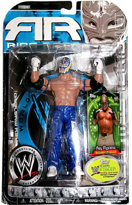WWE Wrestling Ruthless Aggression Series 20.5 Ring Rage Rey Mysterio Action Figure