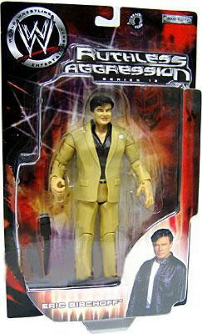 WWE Wrestling Ruthless Aggression Series 12 Eric Bischoff Action Figure