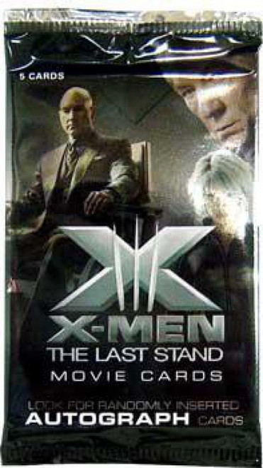 X-Men The Last Stand Trading Card Pack