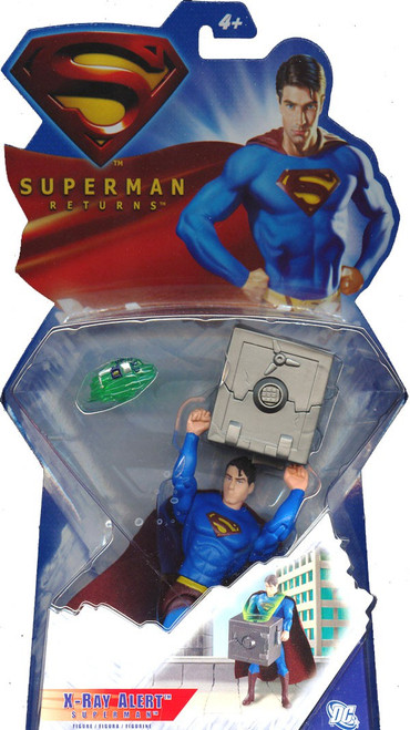 Superman Returns Superman Action Figure [X-Ray Alert]