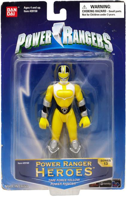 Power Rangers Power Ranger Heroes Series 13 Time Force Yellow Ranger Action Figure
