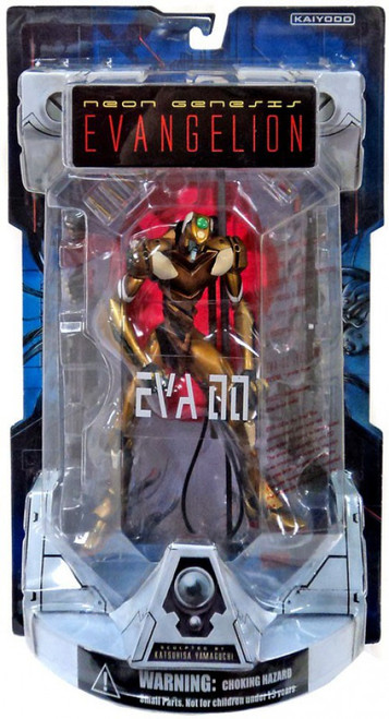 Neon Genesis Evangelion Hyper Realistic EVA-00 Proto Model Collectible Figure [Gold]
