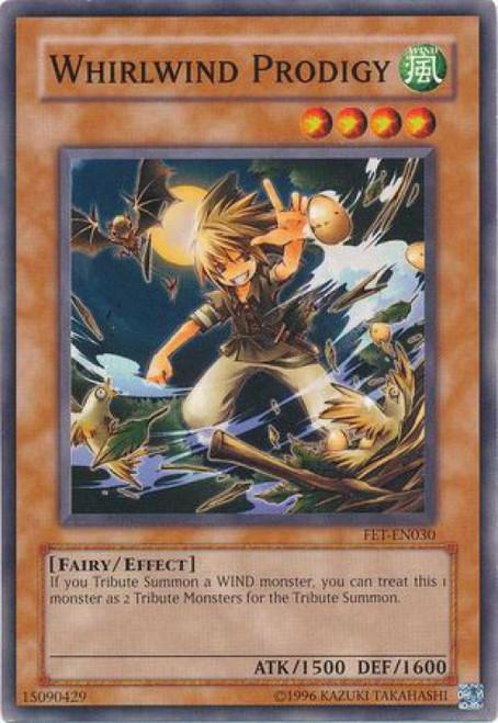 YuGiOh Flaming Eternity Common Whirlwind Prodigy FET-EN030