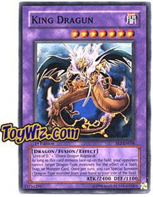 YuGiOh Flaming Eternity Super Rare King Dragun FET-EN036
