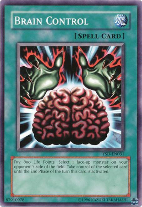YuGiOh GX Trading Card Game 2006 Starter Deck Common Brain Control YSD-EN031