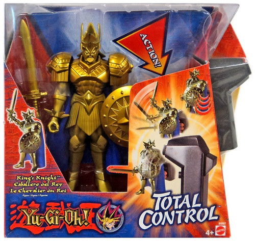 YuGiOh Total Control Yugi Action Figure [King's Knight]