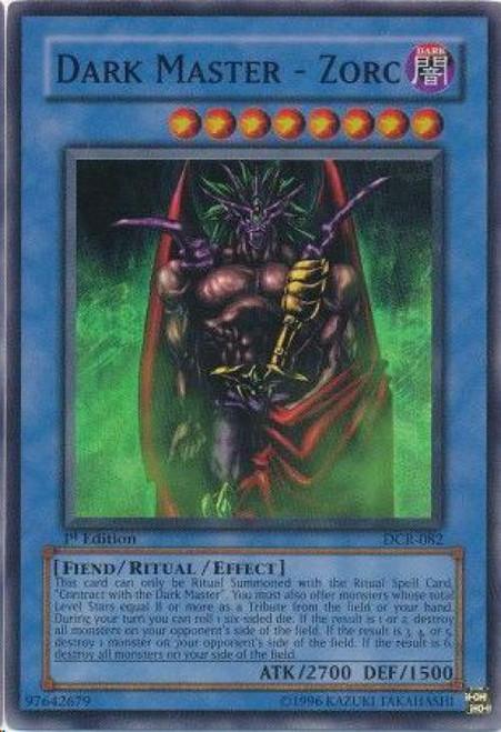 YuGiOh Dark Crisis Super Rare Dark Master Zorc DCR-082