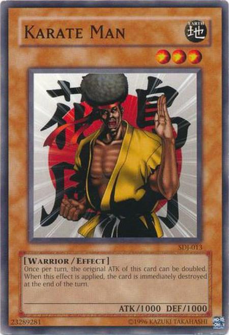 YuGiOh Joey Starter Deck Karate Man SDJ-013