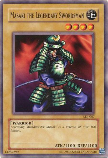 YuGiOh Joey Starter Deck Masaki The Legendary Swordsman SDJ-007