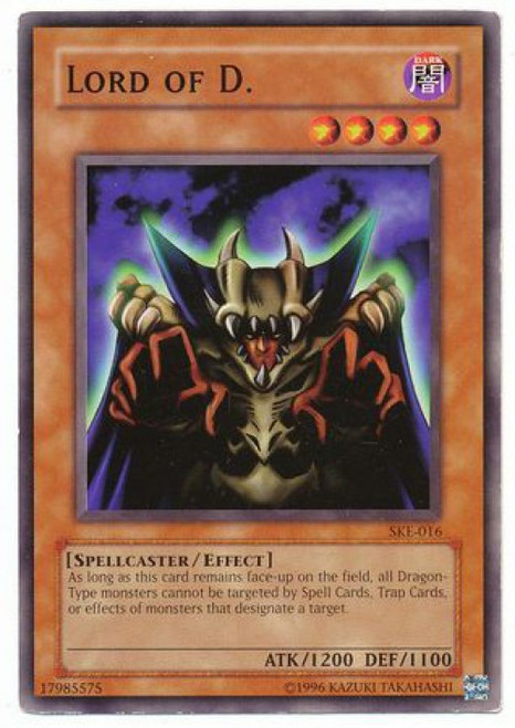 YuGiOh Kaiba Evolution Common Lord of D. SKE-016