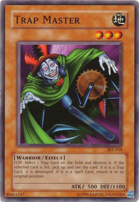 YuGiOh Kaiba Evolution Common Trap Master SKE-018