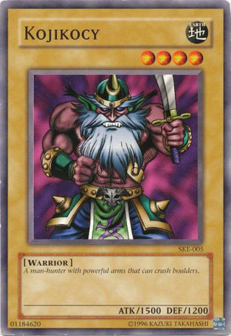 YuGiOh Kaiba Evolution Common Kojiocy SKE-005
