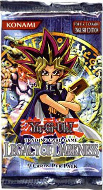 YuGiOh Trading Card Game Legacy of Darkness Booster Pack