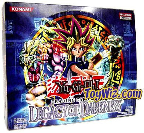 YuGiOh Trading Card Game Legacy of Darkness Booster Box [24 Packs]